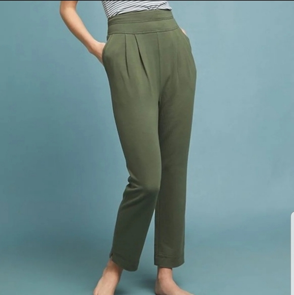 Anthropologie Pants - Anthropologie Saturday Sunday Green Pants Small